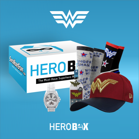 Wonder Woman Premium Hero Box