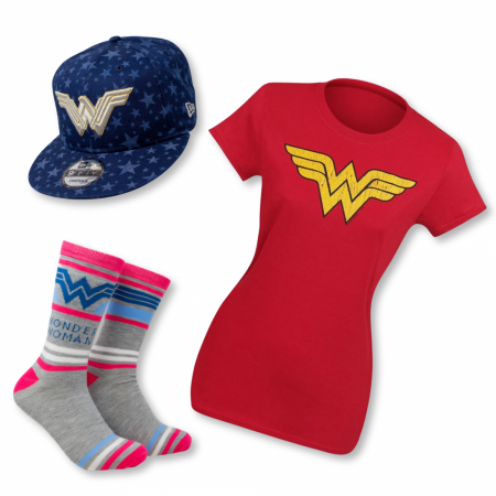 Wonder Woman 3-Piece Women's Gift Set