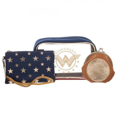 Wonder Woman Cosmetic Bag Gift Set