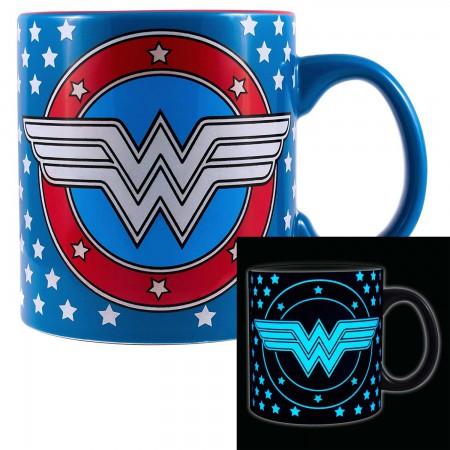 Wonder Woman Glow In The Dark 20oz Mug