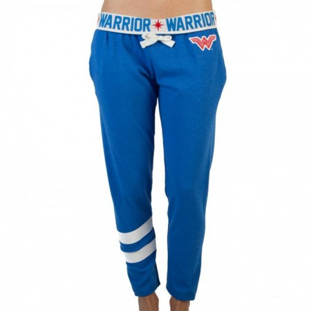 Wonder Woman Blue Warrior Women's Joggers Pants