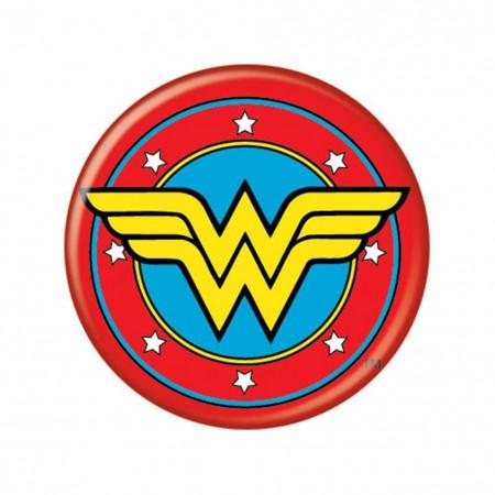 Wonder Woman Logo Button