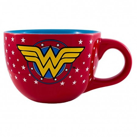 Wonder Woman Large Soup Mug