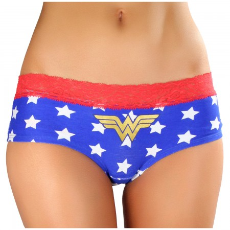 Wonder Woman Star Print Women's Underwear Panties