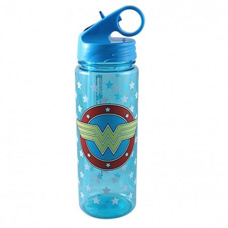Wonder Woman Plastic Water Bottle