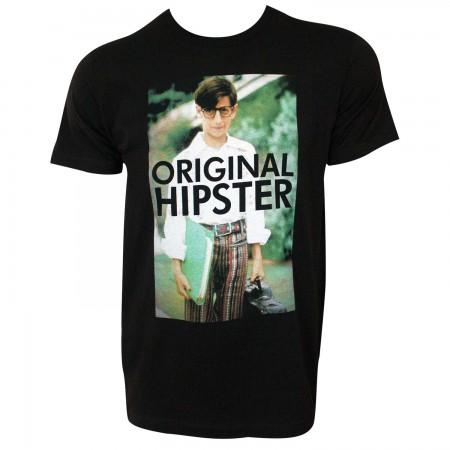 Wonder Years Paul Original Hipster Men's Black T-Shirt