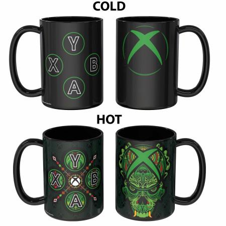 Xbox Game Console Color Chagne Ceramic Mug