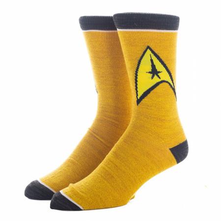 Star Trek 5-Pair Pack of Crew Socks