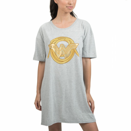 Wonder Women Short Sleeved Women's Night Shirt