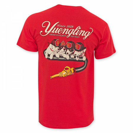Yuengling Fire Dogs Red T-Shirt
