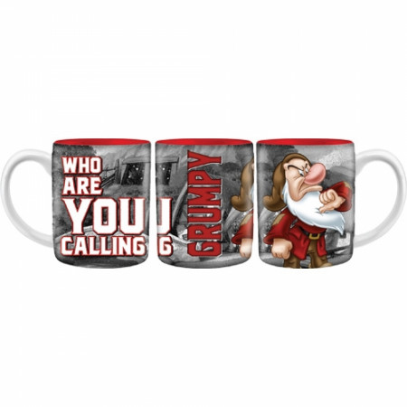 "Grumpy Disney ""Who Are You Calling"" 14oz Mug"