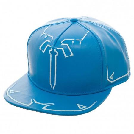 The Legend Of Zelda Blue Breath Of The Wind Snapback Hat