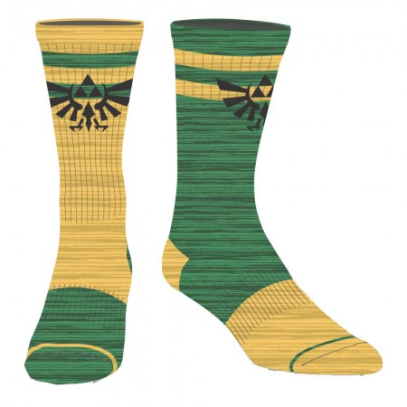 The Legend Of Zelda Nintendo Flipped Colors Men's Crew Socks