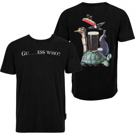 Guinness Black Guess Who? Men's T-Shirt
