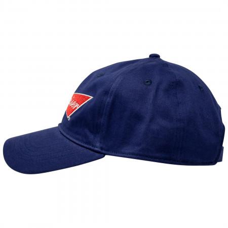 Budweiser Beer Bowtie Logo Adjustable Strapback Hat