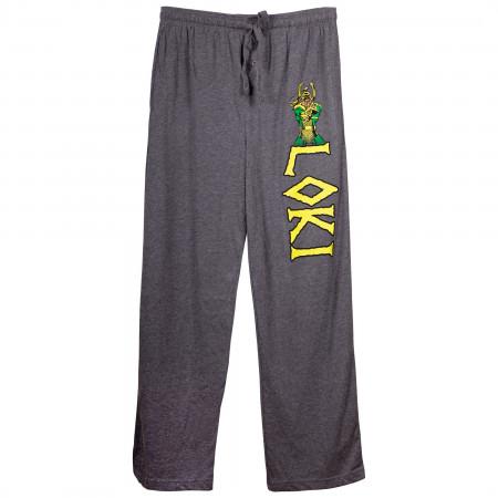 Loki Character Unisex Pajama Pants