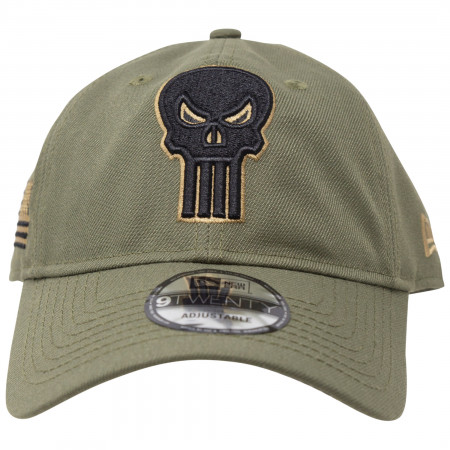 Punisher Salute To Service New Era 9Twenty Adjustable Hat