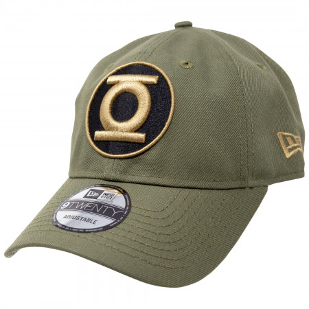 Green Lantern Salute To Service New Era 9Twenty Adjustable Hat