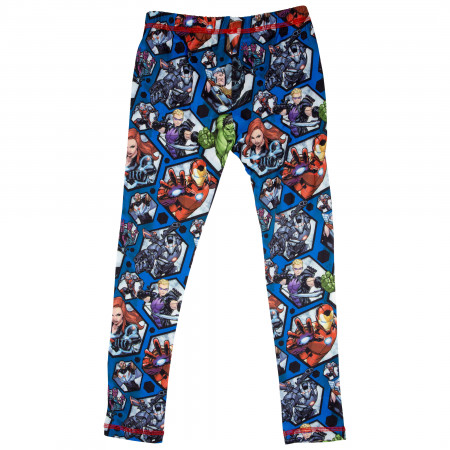 Avengers Marvel Big Boys 2-Piece Pajama Set