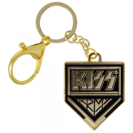 KISS Gold Logo Keychain