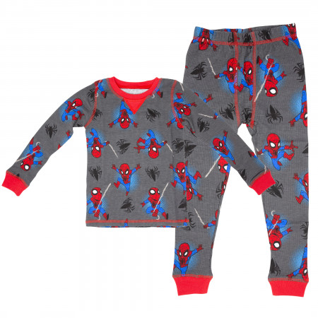 Spider-Man Toddler Boys 2-Piece Pajama Set
