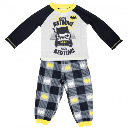 Batman Has a Bed Time Kids Pajama Set