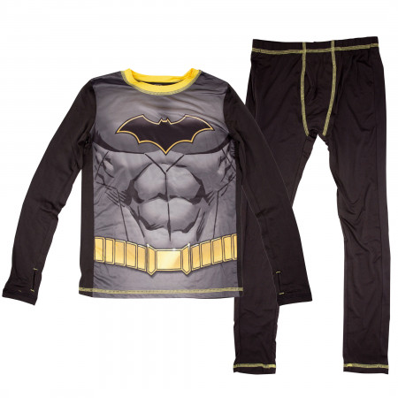 Batman Costume Big Boys 2-Piece Pajama Set