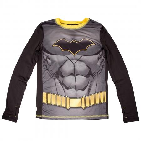 Batman Costume Big Boys 2-Piece Pajama Set