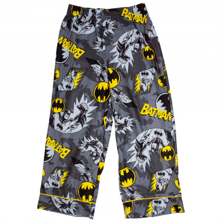 Batman All Over Print Kids Pajama Set