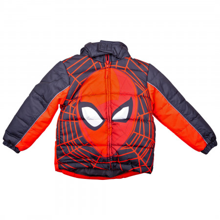 Spider-Man Face Kids Coat