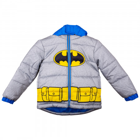 Batman Costume Large Kids Coat