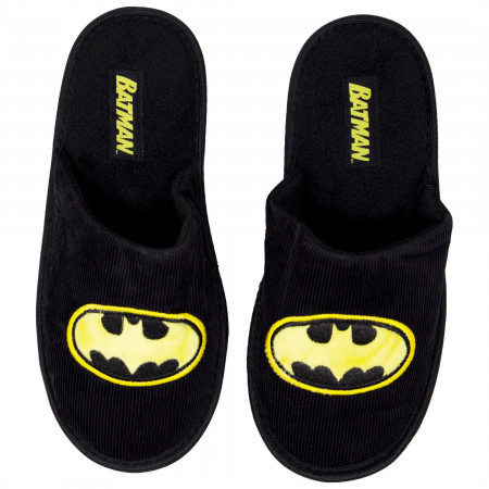 Batman Black and Yellow Slippers