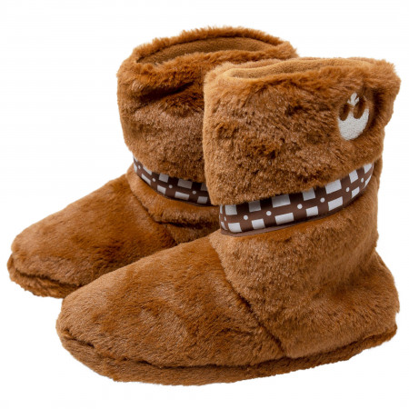 Star Wars Chewbacca Fuzzy Slippers