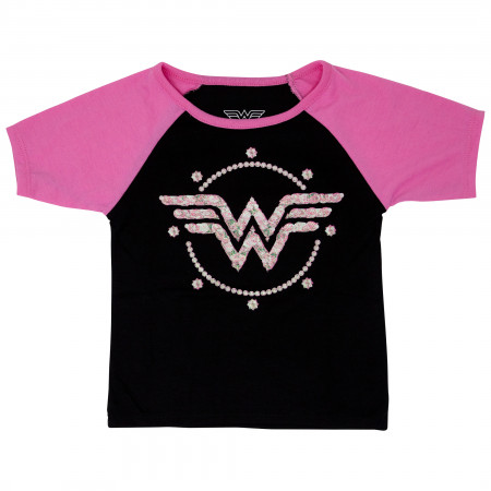 Wonder Woman Kids Bedazzled Symbol T-Shirt
