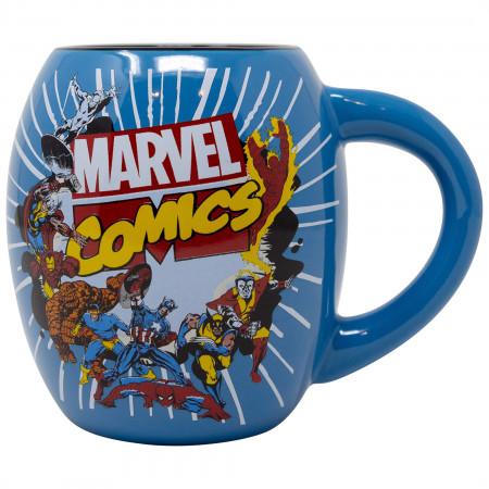 Avengers 18oz Blue Ceramic Mug