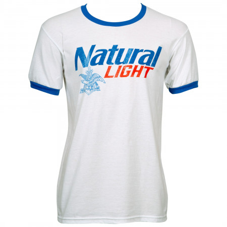 Natural Light Ringer T-Shirt