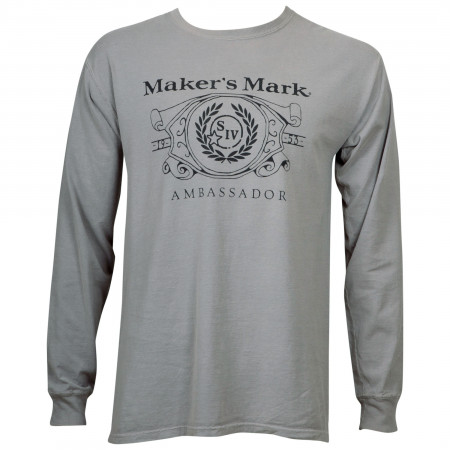 Maker's Mark Eco Friendly Long Sleeve Shirt