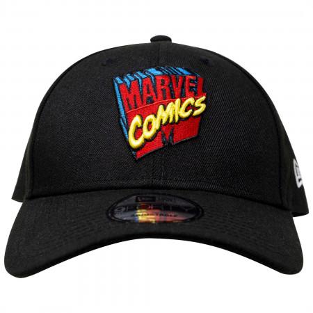 Marvel 80th Logo New Era 9Forty Adjustable Hat