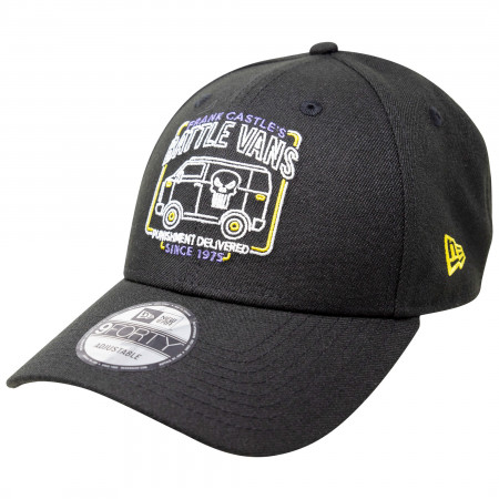 The Punisher Battle Van Marvel 80th New Era 9Forty Adjustable Hat