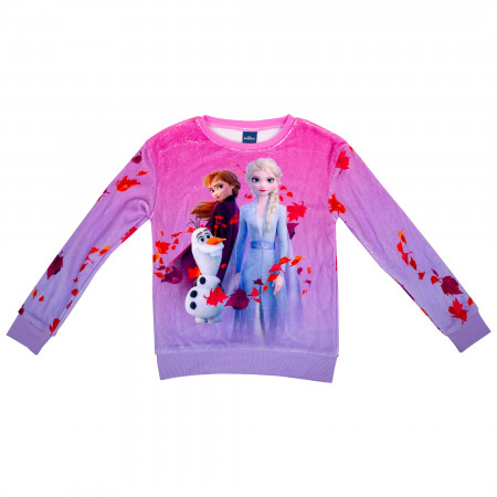 Frozen 2 Pink Girls Sweatshirt