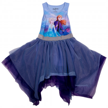 Disney Frozen 2 Girls Tutu Dress