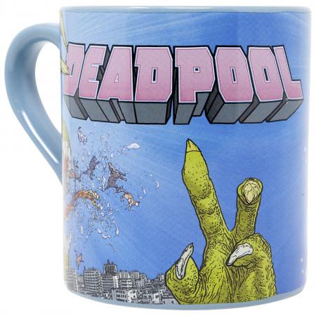 Deadpool Unicorn 14 Ounce Ceramic Mug