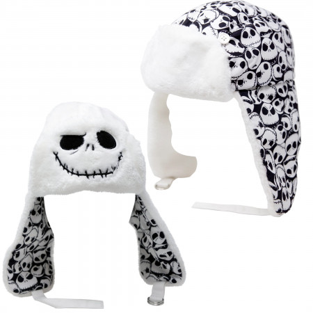 Nightmare Before Christmas Reversible Bomber Winter Hat