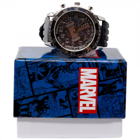 Thor's Mjlonir Classic Watch with Rubber Band