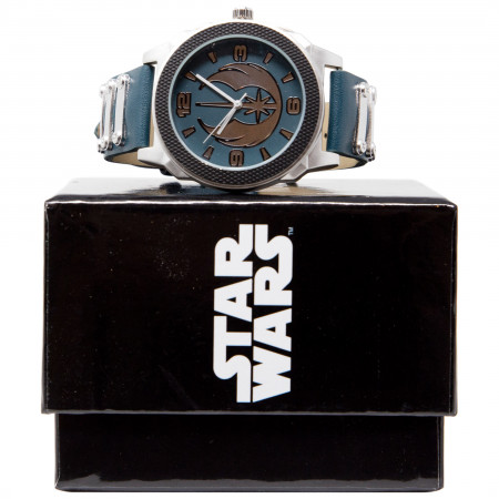 Star Wars New Jedi Order Symbol Watch With Rubber Band