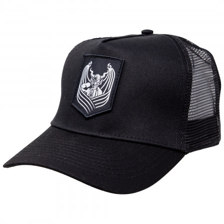 Arrogant Bastard Gargoyle Snapback Trucker Hat