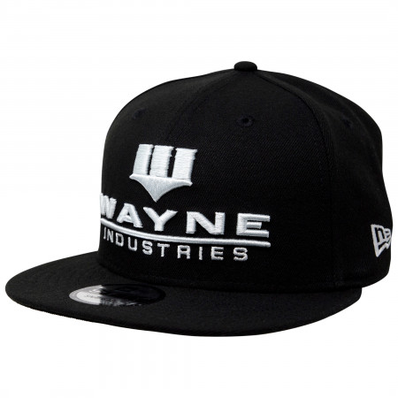 Batman Wayne Industries New Era 9Fifty Adjustable Hat