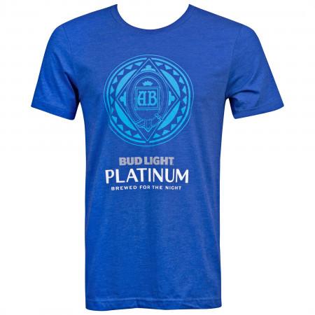 Bud Light Platinum Men's Blue T-Shirt
