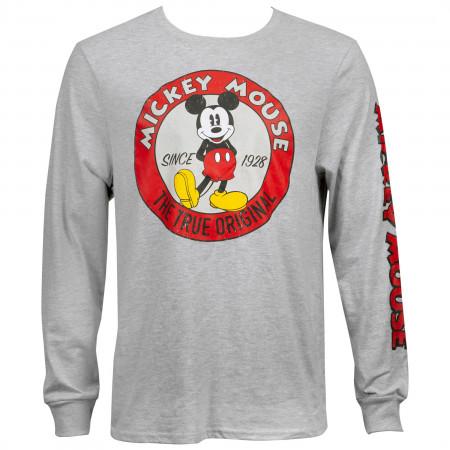 Mickey Mouse True Original Long Sleeve Shirt