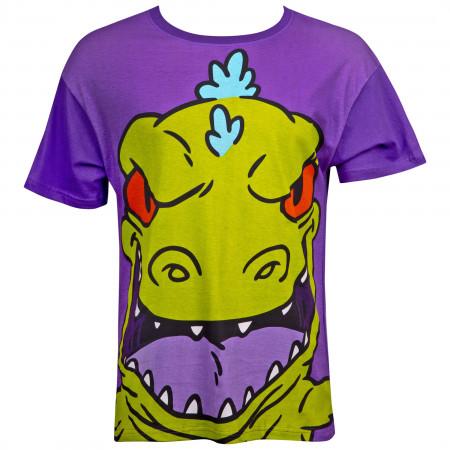 Nickelodeon Rugrats Reptar Purple T-Shirt